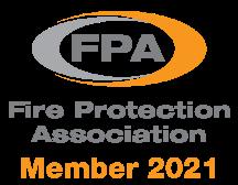 Fire protection association member 2021 logo