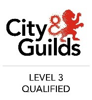 city and guilds level 3 qualified logo